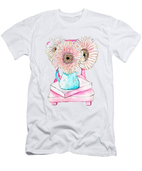 Bouquet Of Gerberas Men's T-Shirt (Athletic Fit)