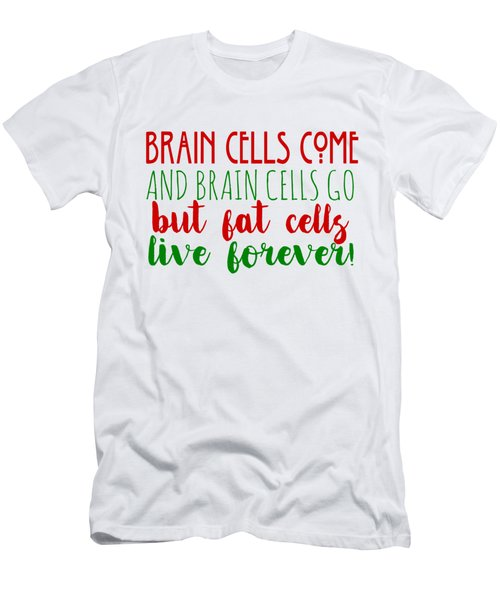 Brain Cells Men's T-Shirt (Athletic Fit)