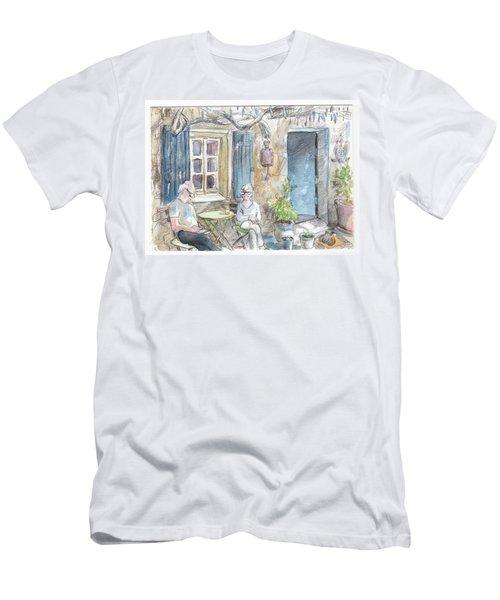 Breakfast Al Fresco Men's T-Shirt (Athletic Fit)