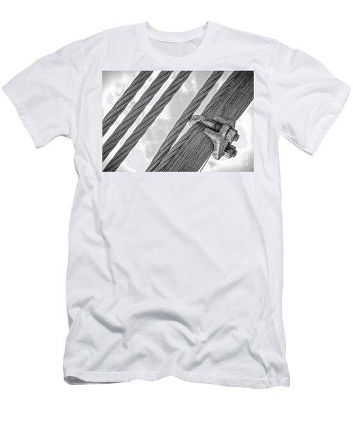 Bridge Cables Men's T-Shirt (Athletic Fit)