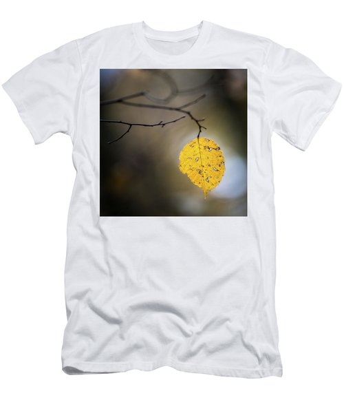 Bright Fall Leaf 7 Men's T-Shirt (Athletic Fit)