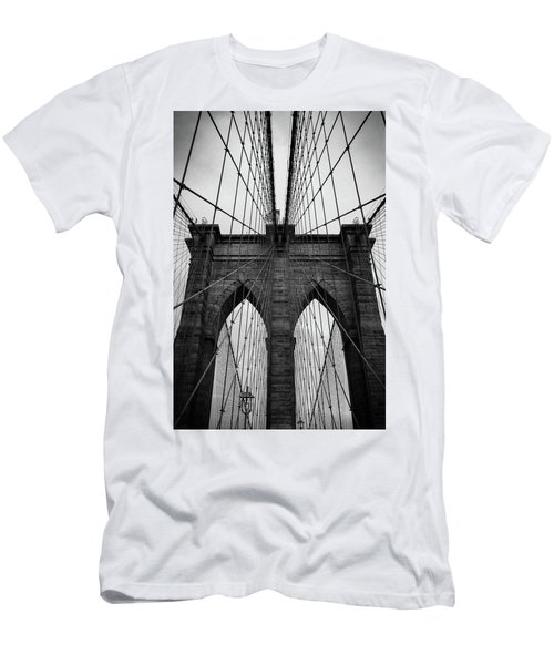 Brooklyn Bridge Wall Art Men's T-Shirt (Athletic Fit)