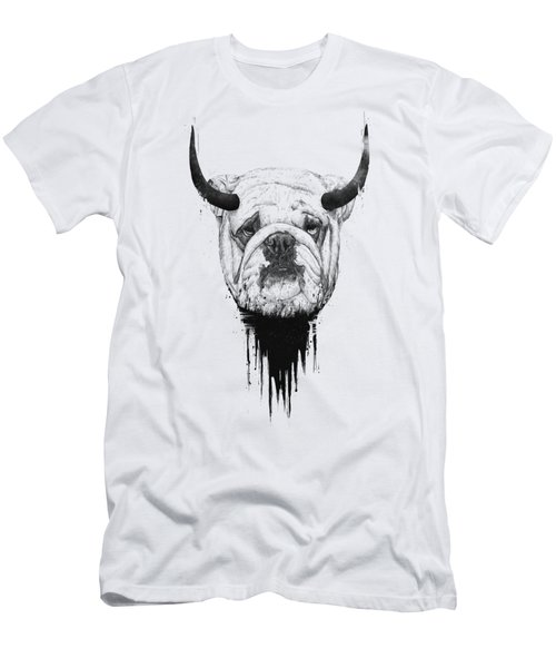 Bull Dog Men's T-Shirt (Athletic Fit)