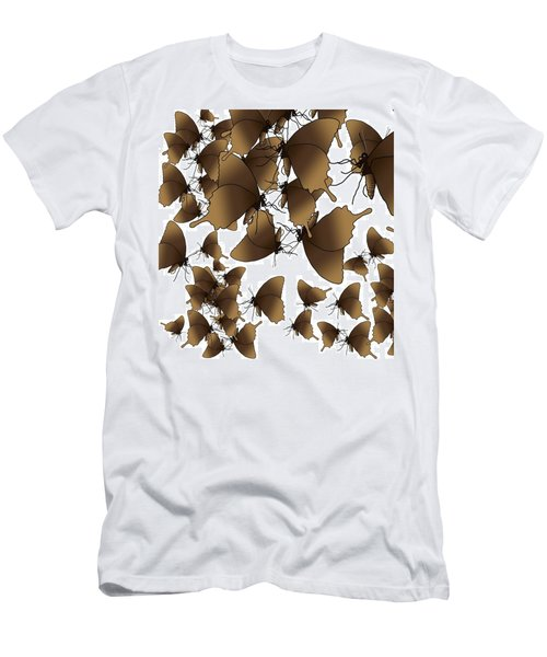 Butterfly Patterns 1 Men's T-Shirt (Athletic Fit)