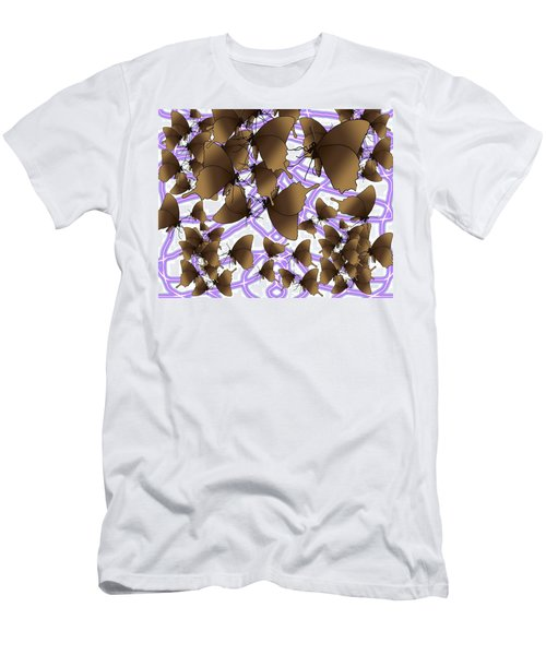 Butterfly Patterns 12 Men's T-Shirt (Athletic Fit)