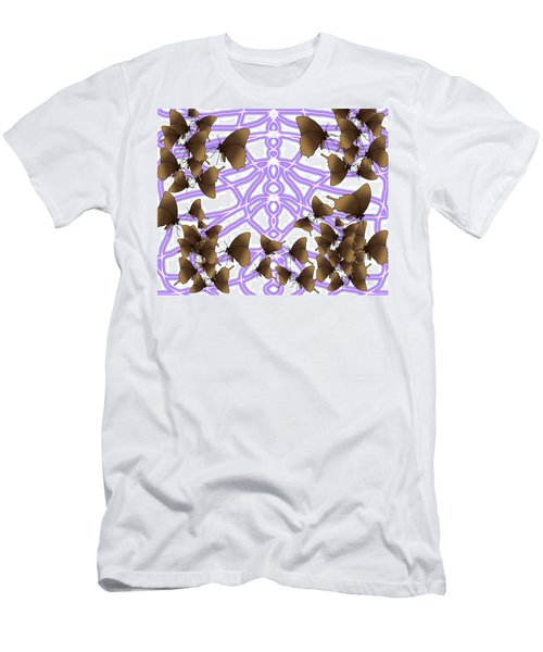 Butterfly Patterns 14 Men's T-Shirt (Athletic Fit)