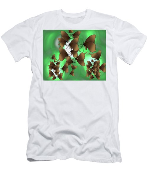 Butterfly Patterns 15 Men's T-Shirt (Athletic Fit)