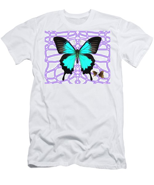 Butterfly Patterns 18 Men's T-Shirt (Athletic Fit)