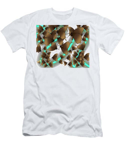 Butterfly Patterns 2 Men's T-Shirt (Athletic Fit)