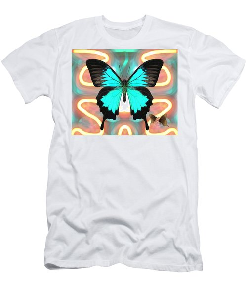 Butterfly Patterns 21 Men's T-Shirt (Athletic Fit)