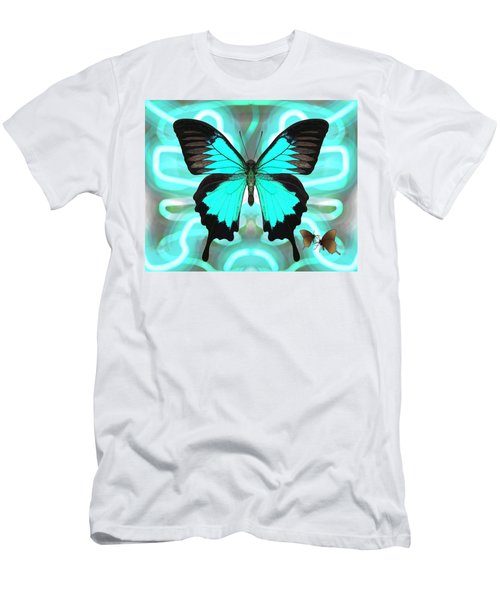 Butterfly Patterns 22 Men's T-Shirt (Athletic Fit)