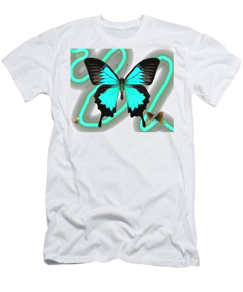 Butterfly Patterns 23 Men's T-Shirt (Athletic Fit)