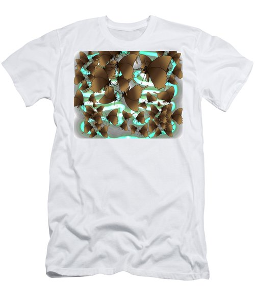 Butterfly Patterns 4 Men's T-Shirt (Athletic Fit)