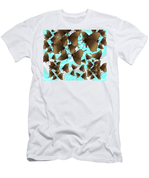 Butterfly Patterns 6 Men's T-Shirt (Athletic Fit)