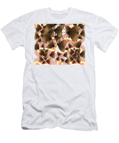 Butterfly Patterns 8 Men's T-Shirt (Athletic Fit)