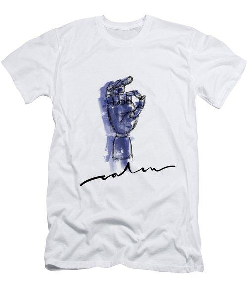 Calm Men's T-Shirt (Athletic Fit)