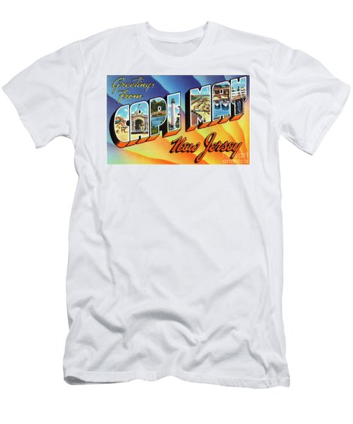 Cape May Greetings - Version 1 Men's T-Shirt (Athletic Fit)