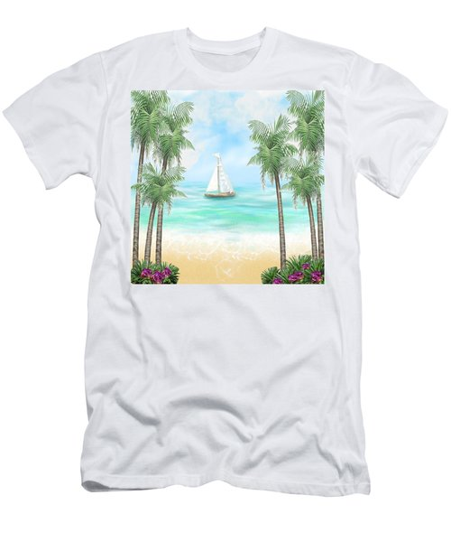 Carribean Bay Men's T-Shirt (Athletic Fit)
