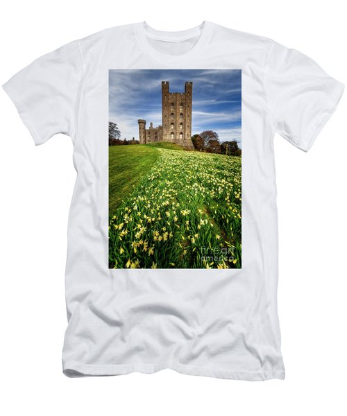 Castle Keep Daffodils Men's T-Shirt (Athletic Fit)