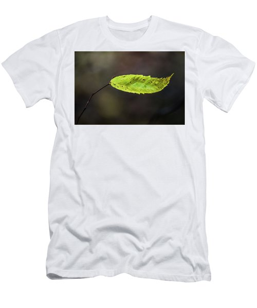 Men's T-Shirt (Athletic Fit) featuring the photograph Catching Raindrops  by Michael Arend