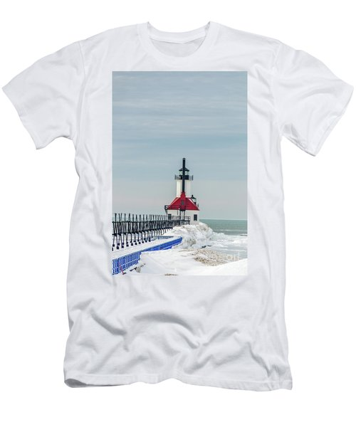 Catwalk And Lighthouses Men's T-Shirt (Athletic Fit)
