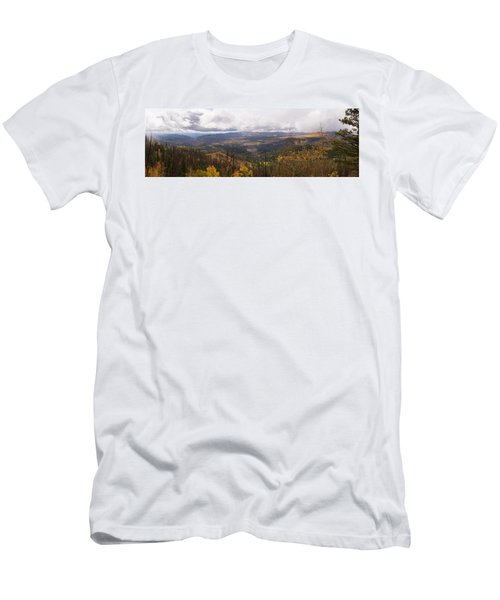 Cedar Mountain Top  Men's T-Shirt (Athletic Fit)