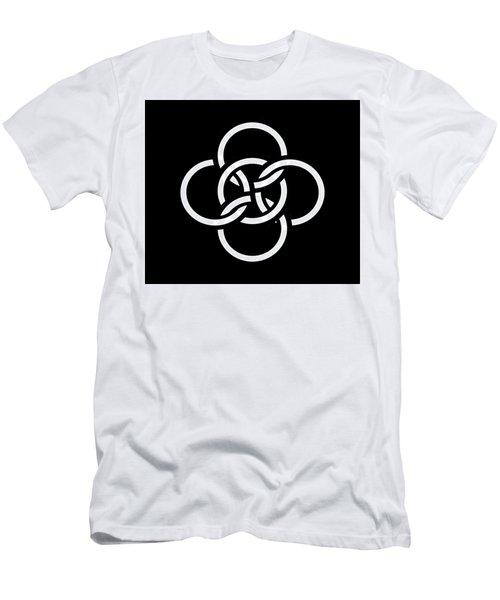 Celtic Five Fold Symbol 2 Men's T-Shirt (Athletic Fit)
