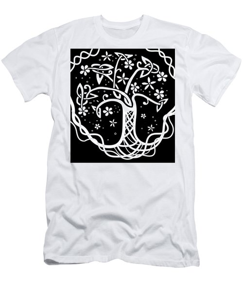 Celtic Tree Of Life 3 Men's T-Shirt (Athletic Fit)