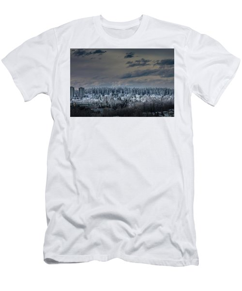 Central Park Winter Men's T-Shirt (Athletic Fit)