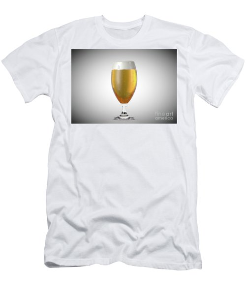 Chalice Beer Pint Men's T-Shirt (Athletic Fit)