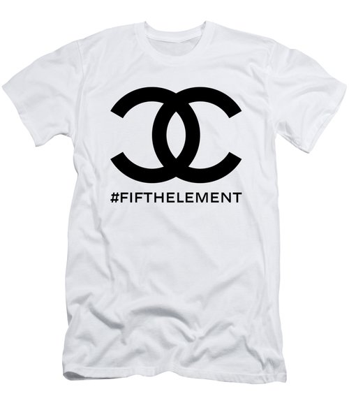 Chanel Fifth Element-1 Men's T-Shirt (Athletic Fit)