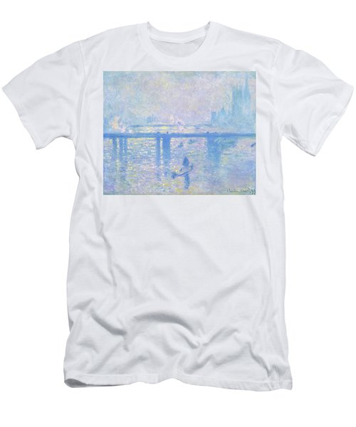 Charing Cross Bridge - Digital Remastered Edition Men's T-Shirt (Athletic Fit)