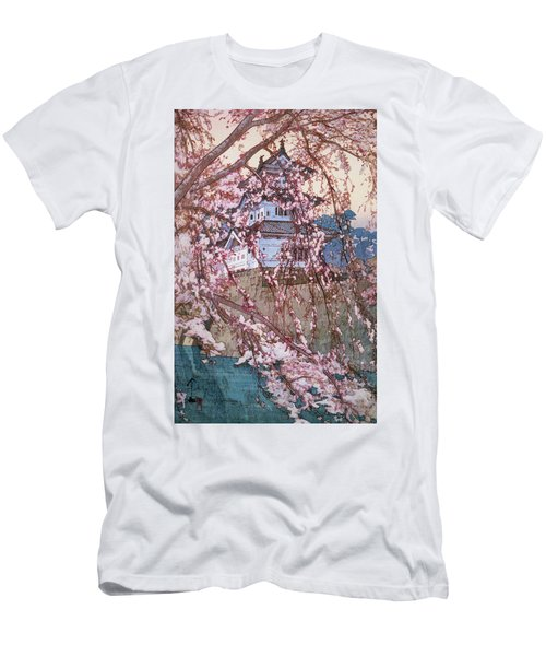 Cherry Blossoms 8scenes, Hirosaki Castle - Digital Remastered Edition Men's T-Shirt (Athletic Fit)