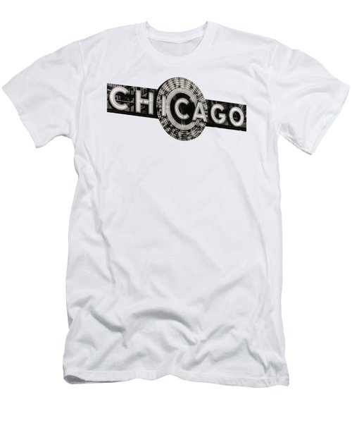 Chicago Theater Marquee - T-shirt Men's T-Shirt (Athletic Fit)