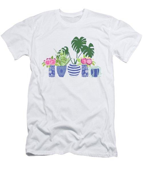 Chinoiserie Garden Men's T-Shirt (Athletic Fit)