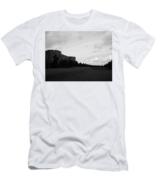 Men's T-Shirt (Athletic Fit) featuring the photograph Chirk Castle by JLowPhotos