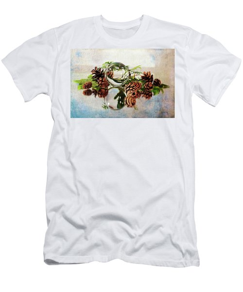 Men's T-Shirt (Athletic Fit) featuring the photograph Christmas Thoughts by Randi Grace Nilsberg