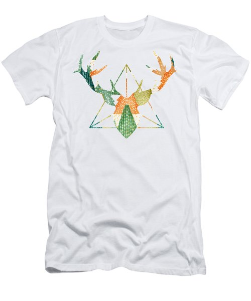 Christmas Trio - Antlers Men's T-Shirt (Athletic Fit)