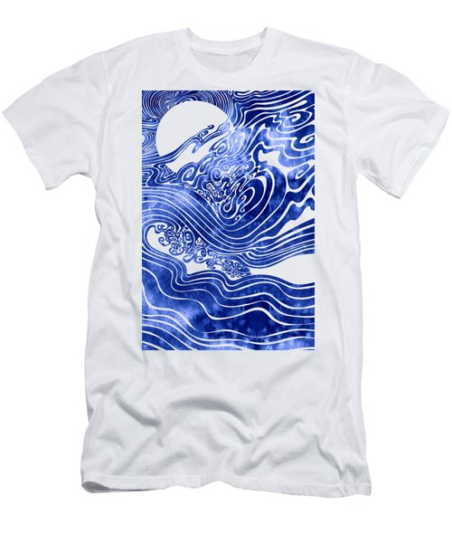 Churn The Deep Men's T-Shirt (Athletic Fit)