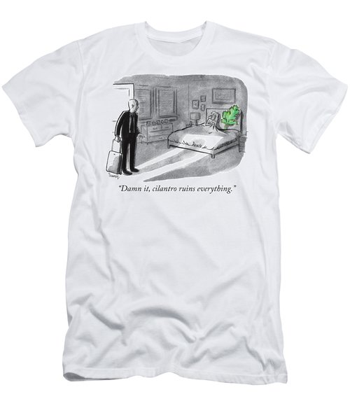 Cilantro Ruins Everything Men's T-Shirt (Athletic Fit)