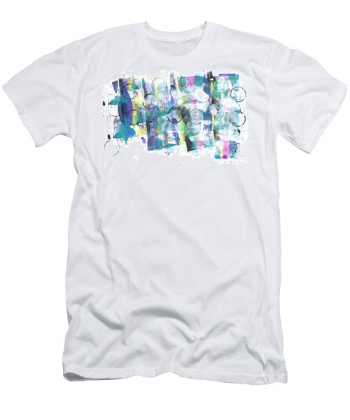 Circle And Rainbow Men's T-Shirt (Athletic Fit)