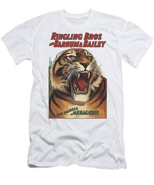 Circus Tiger C. 1925 - T-shirt Men's T-Shirt (Athletic Fit)