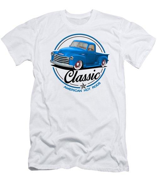 Classic American Hot Rod Men's T-Shirt (Athletic Fit)