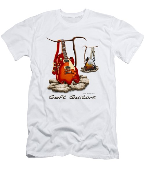 Classic Soft Guitars Men's T-Shirt (Athletic Fit)