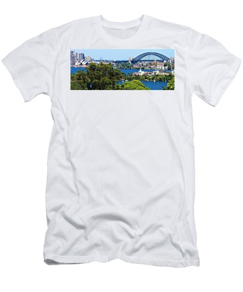 Men's T-Shirt (Athletic Fit) featuring the photograph Classic Sydney by Joan Stratton