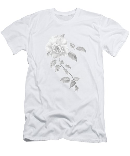Climbing Rose II Men's T-Shirt (Athletic Fit)