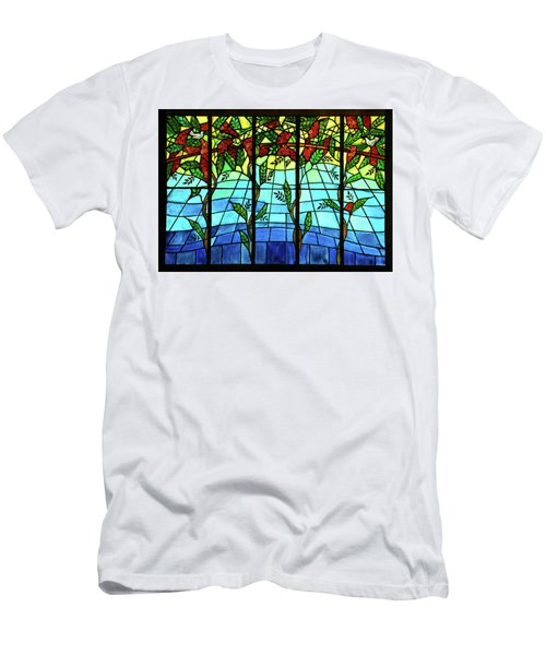 Climbing Vines Men's T-Shirt (Athletic Fit)