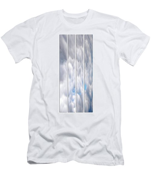 Men's T-Shirt (Athletic Fit) featuring the photograph Cloud Abstract by Angie Tirado