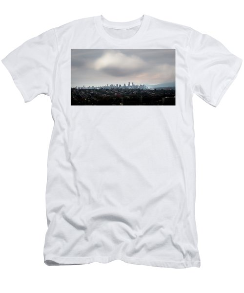Cloud On Vancouver  Men's T-Shirt (Athletic Fit)