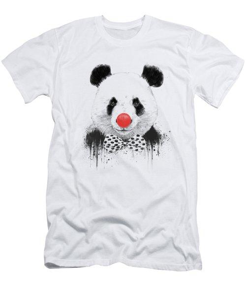 Clown Panda Men's T-Shirt (Athletic Fit)